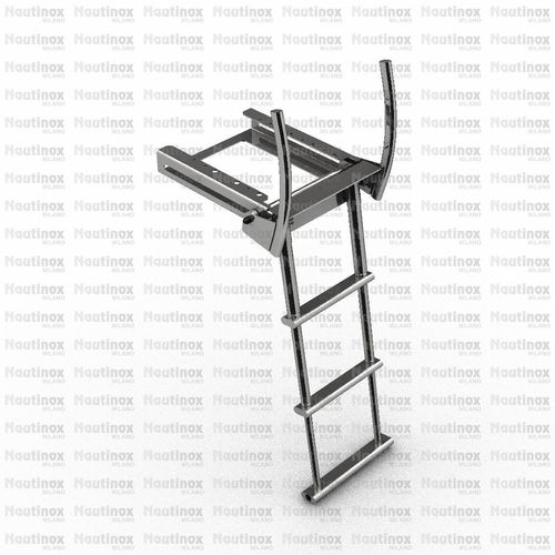 boat ladder / for yachts / retractable / telescopic