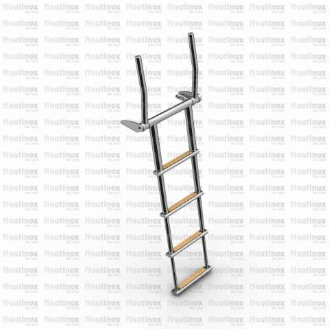 boat ladder / for yachts / for sailboats / retractable