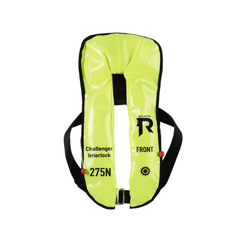 self-inflating life jacket / 275 N / professional