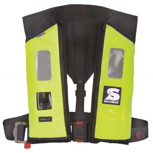 self-inflating life jacket / 275 N / professional