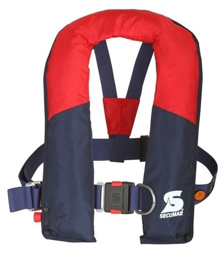 self-inflating life jacket / 275 N / with safety harness / for fishing