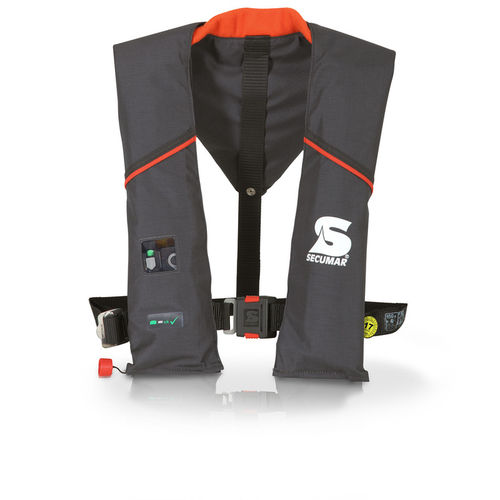 self-inflating life jacket / 150 N / for fishing