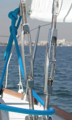 open-body turnbuckle / articulated toggle / fork / for rod rigging