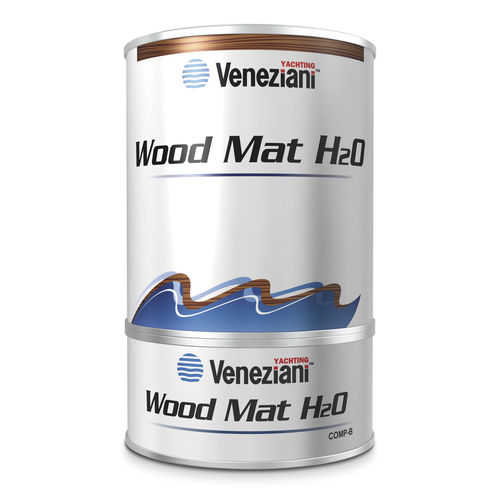boat varnish / for wood / two-component