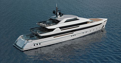 cruising mega-yacht / classic / wheelhouse / steel
