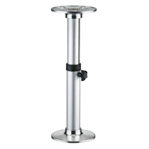adjustable boat table pedestal / aluminum
