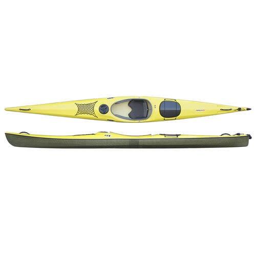 rigid kayak / sea / performance touring / solo