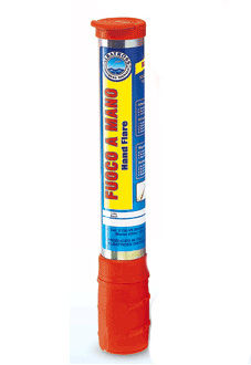 distress hand flare / for ships / for boats / white