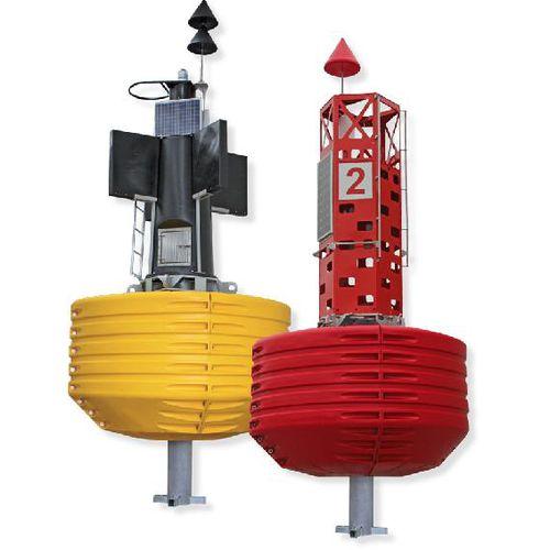 beacon buoy / high seas / with signal light / polyether
