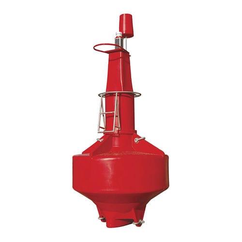 beacon buoy / high seas / with signal light / polyethylene