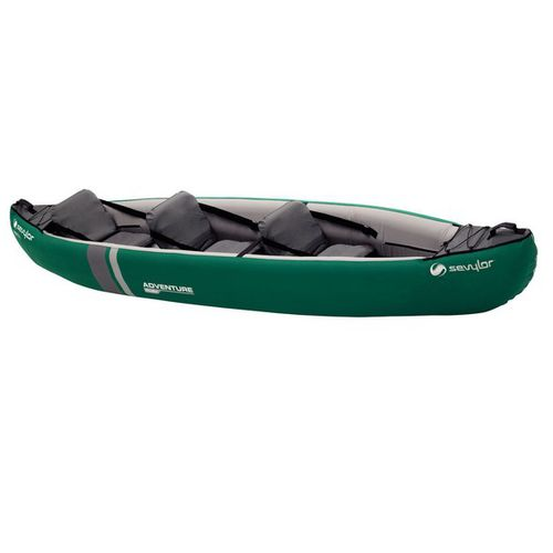 multi-use canoe / inflatable / 2-person