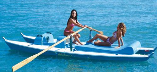 rowing catamaran