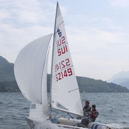 mainsail / for sailing dinghies / 420 / radial cut