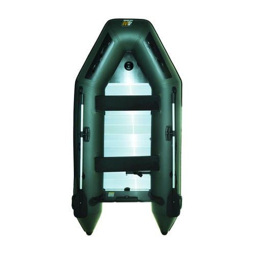 foldable inflatable boat / for fishing / slatted floor