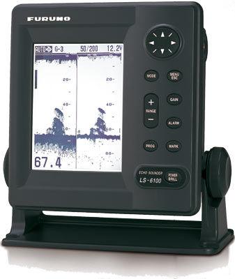 boat echo sounder / graphic / monochrome