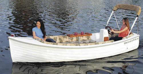 electric small boat / center console / classic / 5-person max.