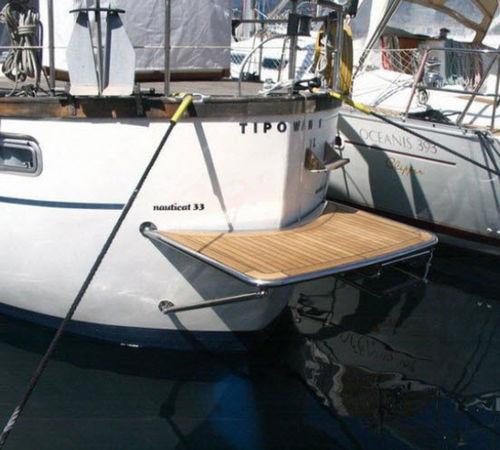boat platform / fixed / custom