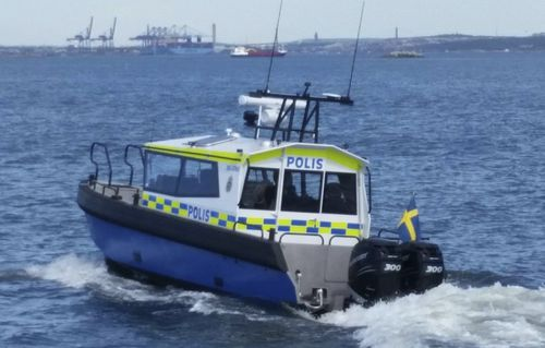 patrol boat professional boat / outboard / diesel / aluminum