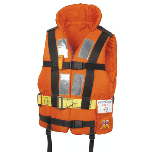 foam life jacket / 150 N / with safety harness / professional