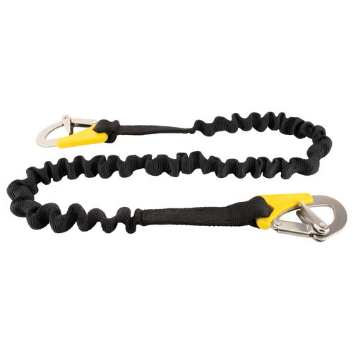 safety harness tether / for boats / elastic