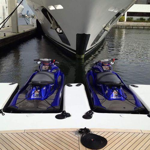 floating dock / mooring / jet-ski / for yachts