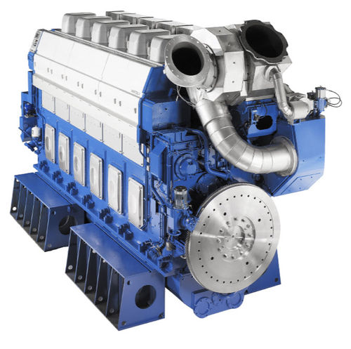 medium-speed ship engine