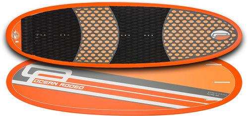 directional kiteboard / wave