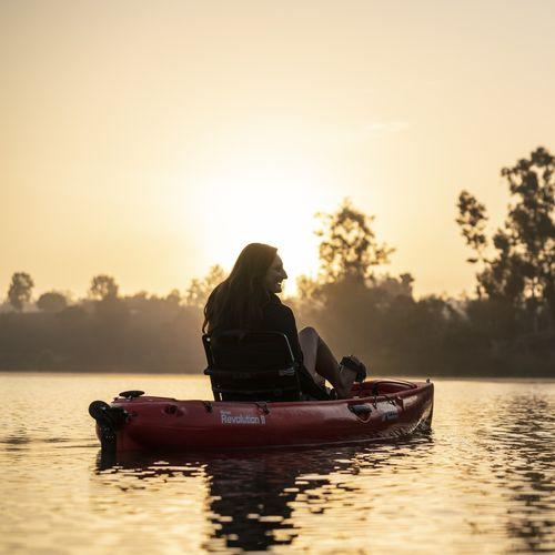 sit-on-top kayak / rigid / recreational / fishing