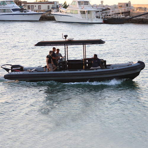 anti-piracy boat professional boat / outboard / rigid hull inflatable boat