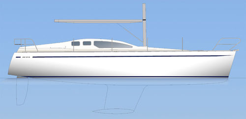 monohull / cruising / with enclosed cockpit / 6-berth