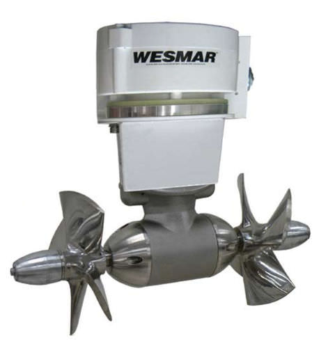bow thruster / for boats / electric / twin counter-rotating propellers