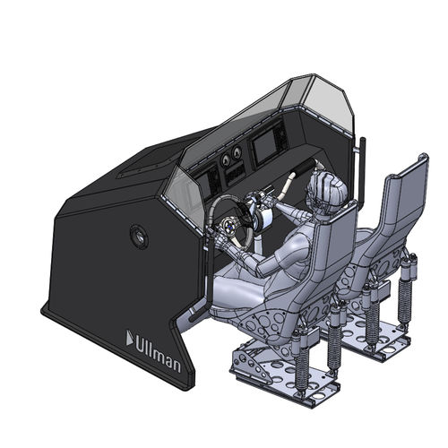 central steering console