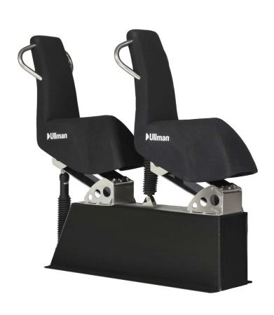 jockey seat / for professional boats / for offshore power boats / for military vessels
