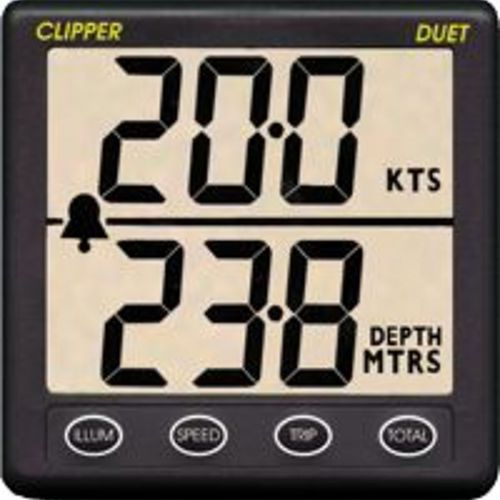 boat display / for sailboats / speed / depth
