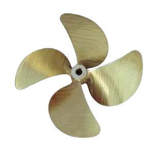 ship propeller / skew / propeller shaft / 4-blade