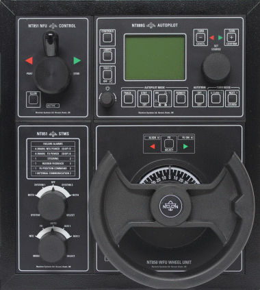 ship control panel / steering system