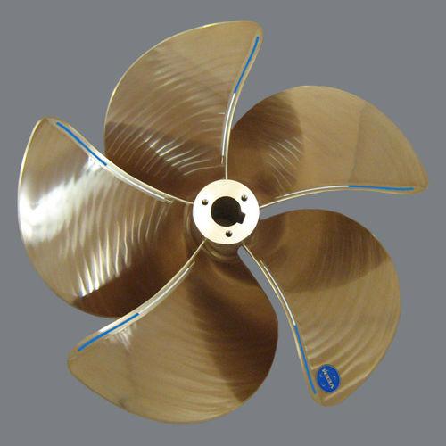 yacht propeller / fixed-pitch / propeller shaft / 5-blade