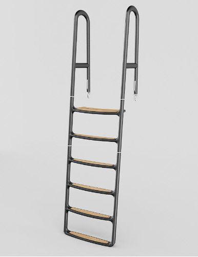 boat ladder / hook / swim / manual
