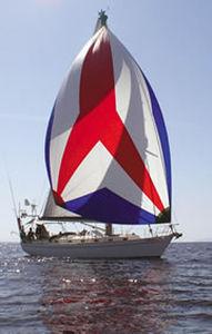 woven sailcloth / cruising / polyester