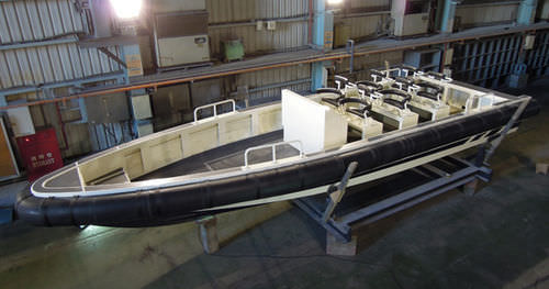 work boat / outboard / rigid hull inflatable boat