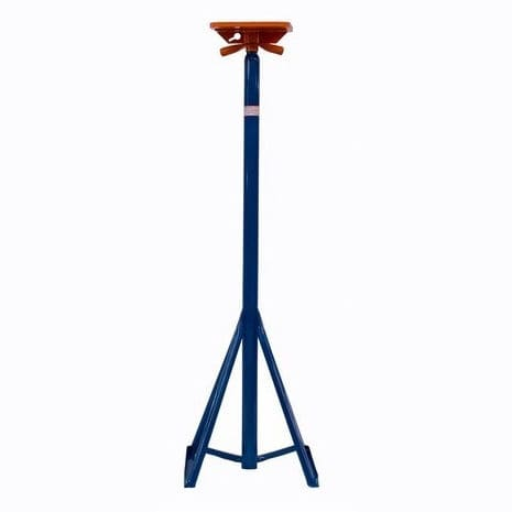 power boat boat stand / adjustable / galvanized