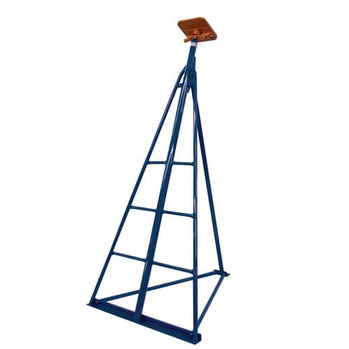 sailboat boat stand / adjustable / with ladder