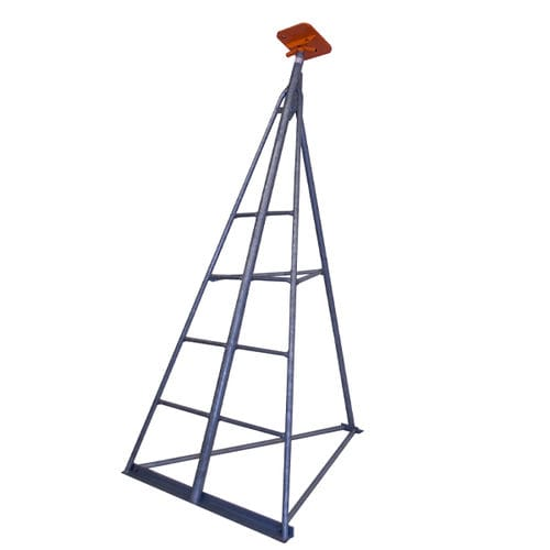 sailboat boat stand / adjustable / galvanized / with ladder