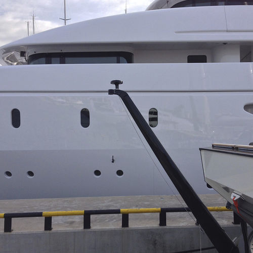 yacht flag holder