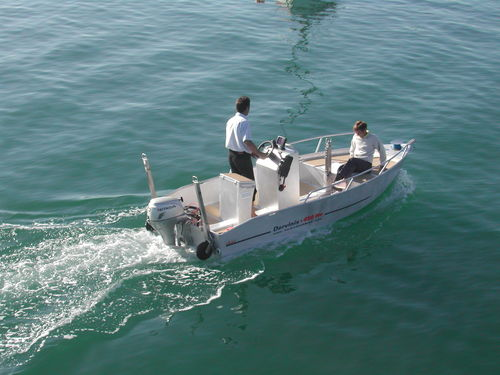 outboard small boat / sport-fishing