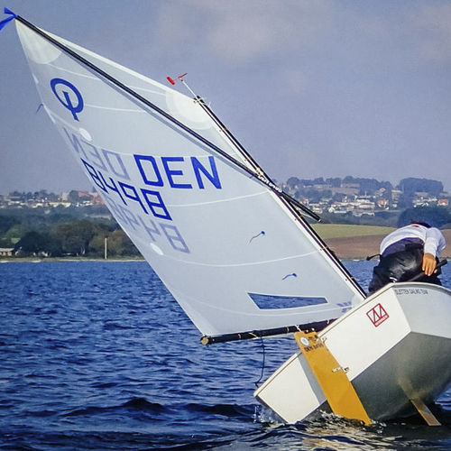mainsail / for sailing dinghies / Optimist / cross-cut