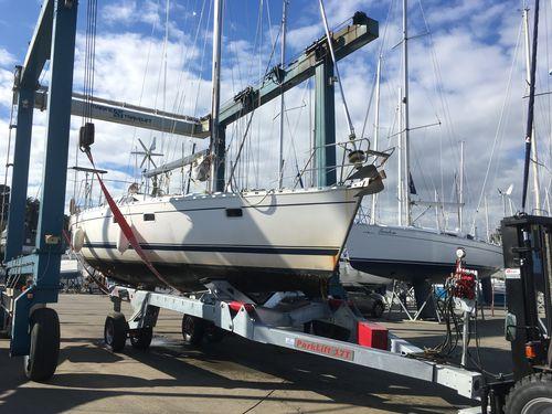 handling trailer / for sailboats / hydraulic