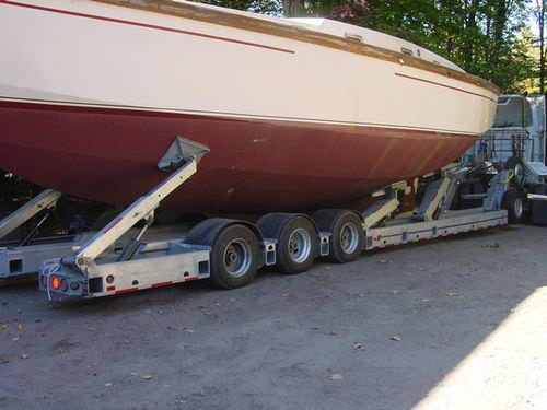 heavy haul trailer / for sailboats