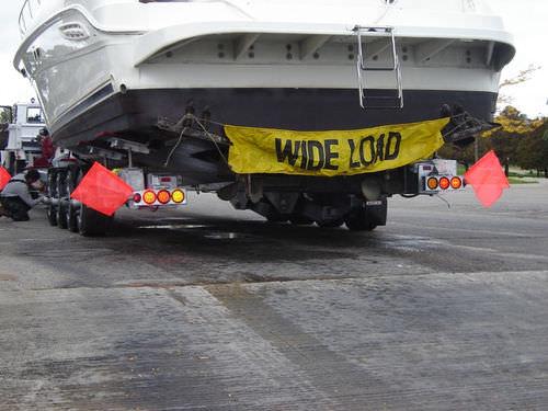 heavy-duty handling trailer