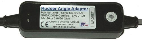 rudder angle indicator / for boats / analog / NMEA 2000®